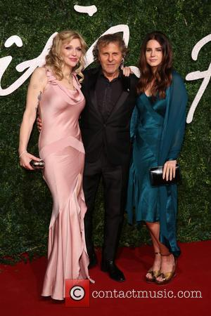 Courtney Love, Renzo Rosso and Lana Del Rey