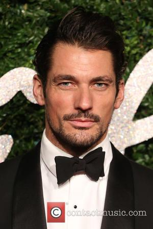 David Gandy - Shots of a host of stars as they took to the red carpet for the 2014 British...