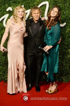 Courtney Love, Renzo Rossi and Lana Del Rey - The British Fashion Awards 2014 held at London Coliseum - Arrivals...