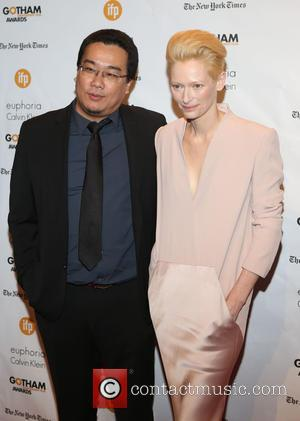Guest and Tilda Swinton - Photographs of a variety of stars as they arrived at the 24th Annual Gotham Independent...