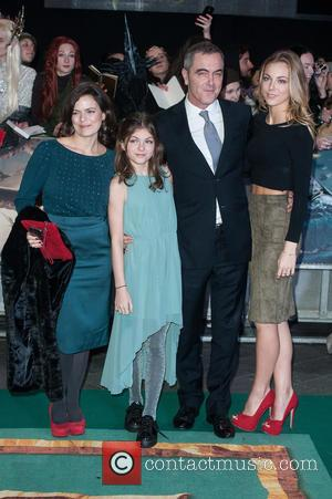 James Nesbitt, Peggy Nesbitt and Mary Nesbitt - Shots from the World Premiere of 'The Hobbit: The Battle of the...