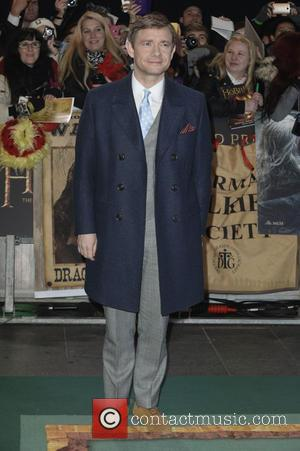 Martin Freeman - 'The Hobbit: The Battle of the Five Armies' world premiere - Arrivals - London, United Kingdom -...