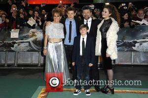 Andy Serkis - 'The Hobbit: The Battle of the Five Armies' world premiere - Arrivals at Odeon Leicester Square -...