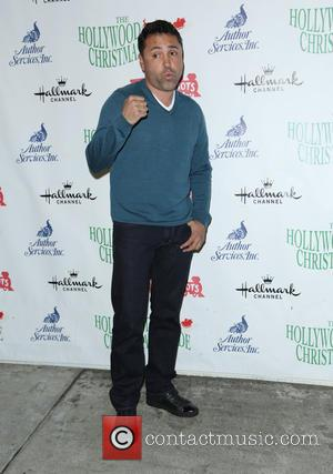 Oscar De La Hoya - Photographs from the 83rd Annual Hollywood Christmas Parade which was attended by a variety of...