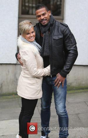Kerry Katona and George Kay - Kerry Katona and husband, George Kay outside the ITV studios - London, United Kingdom...