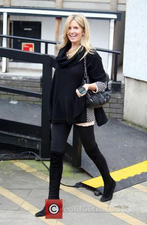 Penny Lancaster - Penny Lancaster outside ITV Studios - London, United Kingdom - Monday 1st December 2014