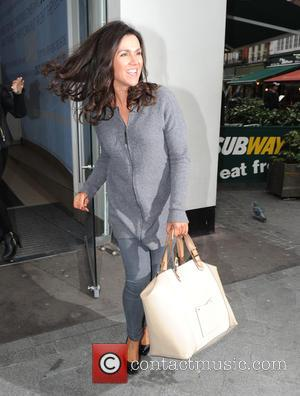 Susanna Reid - Susanna Reid leaving the Global Radio studios - London, United Kingdom - Monday 1st December 2014