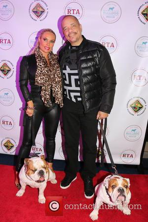 Coco Austin, Ice-t, Dogs Maximus and Sparticus