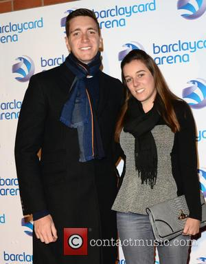 OLIVER PHELPS and partner - Images from the launch of the Barclaycard Arena after having recieved a £26 million redevelopment...