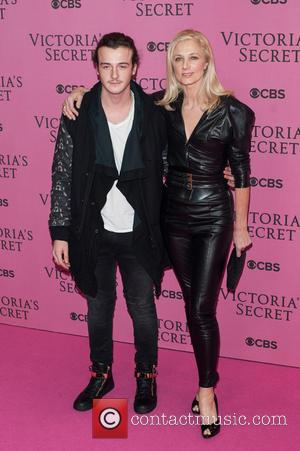 Joely Richardson and Guest - A variety of stars were photographed as they attended the Victoria's Secret Fashion Show 2014...