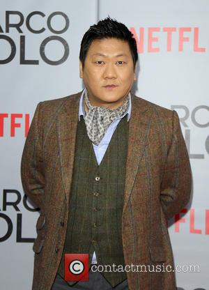 Benedict Wong - Shots of stars as they arrived for the New York premiere of 'Marco Polo' which was held...