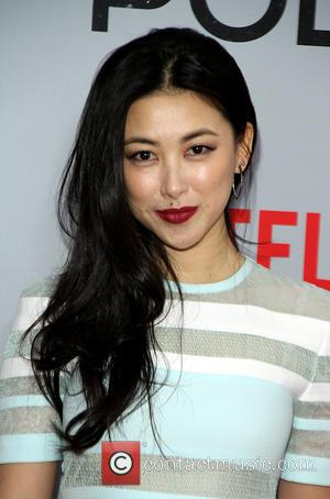 Zhu Zhu - Shots of stars as they arrived for the New York premiere of 'Marco Polo' which was held...