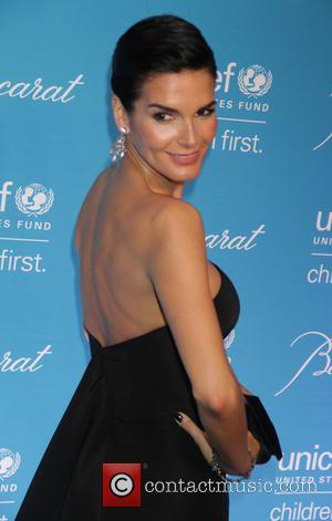 Angie Harmon - Shots of a variety of stars as they arrived at the 10th Annual Unicef Snowflake Ball which...