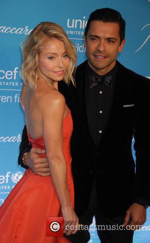 Kelly Ripa and Mark Conseulos