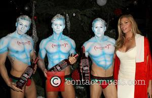 Candis Cayne - Shots of celebrities from World AIDS Day as the Elizabeth Taylor AIDS? Foundation along with the Abbey...