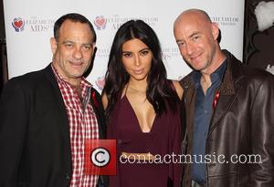 Joel Goldman, Kim Kardashian and Tim Mendelson