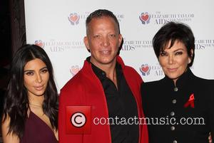 Kim Kardashian, David Cooley and Kris Jenner