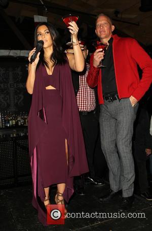 Kim Kardashian and David Cooley
