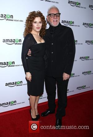 Bernadette Peters and Malcolm Mcdowell