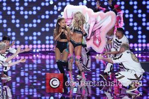 Elsa Hosk and Ariana Grande
