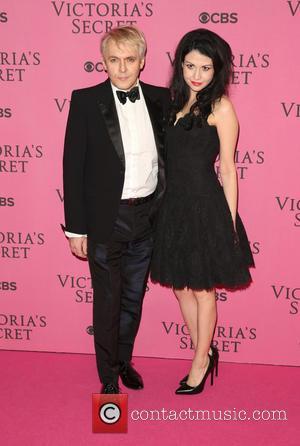 Nefer Suvio and Nick Rhodes - A variety of stars were photographed as they attended the Victoria's Secret Fashion Show...