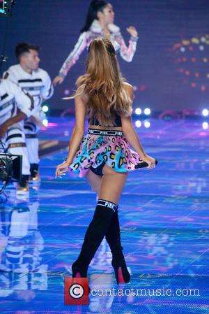 Ariana Grande - Shots from the Victoria's Secret Fashion Show 2014 runway which saw the Victoria's Secret Angels strut their...