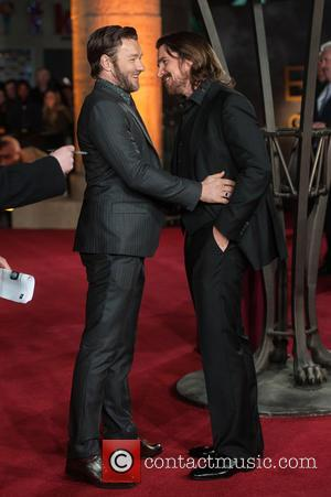 Joel Edgerton and Christian Bale - Photographs of a variety of celebrities as they took to the red carpet for...