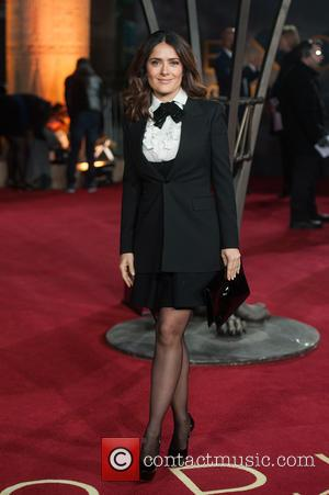 Salma Hayek - 'Exodus: Gods and Kings 3D' - UK film premiere held at the Odeon Leicester Square at Odeon...