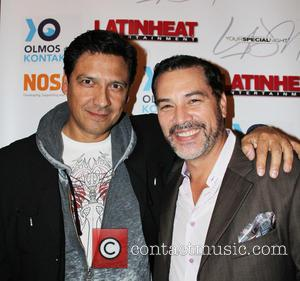 Jay Montalvo and Mauricio Mendoza - 4th Annual Holiday Celebration and Toy Drive hosted by Nosotros and Latin Heat at...