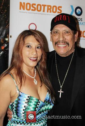 Jenna Urban and Danny Trejo