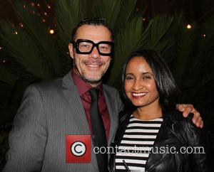 Massi Furlan and Beli Osario - 4th Annual Holiday Celebration and Toy Drive hosted by Nosotros and Latin Heat at...