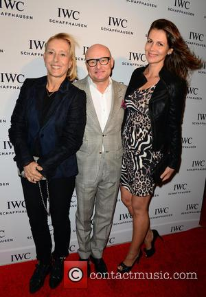 Martina Navratilova, Georges Kern and Julia Lemigova