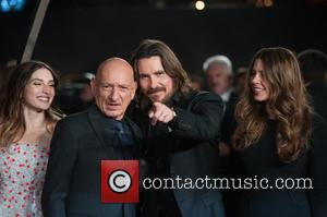 sir Ben Kingsley, Christian Bale, Sibi Blazic and María Valverde