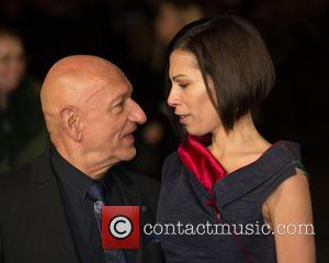 Ben Kingsley and Daniela Lavender - Photographs of a variety of celebrities as they took to the red carpet for...