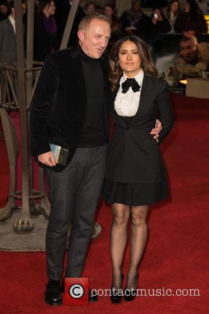 Salma Hayek - Photographs of a variety of celebrities as they took to the red carpet for the UK premiere...