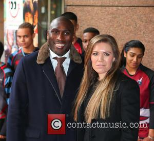 Sol Campbell - Celebrities attend the ICAP Charity Trading Day in London - London, United Kingdom - Wednesday 3rd December...