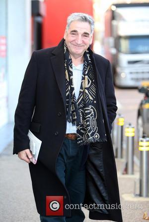 Jim Carter - Jim Carter outside the ITV Studios - London, United Kingdom - Wednesday 3rd December 2014
