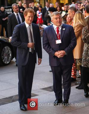 Prince Harry and Jasdon Leonard