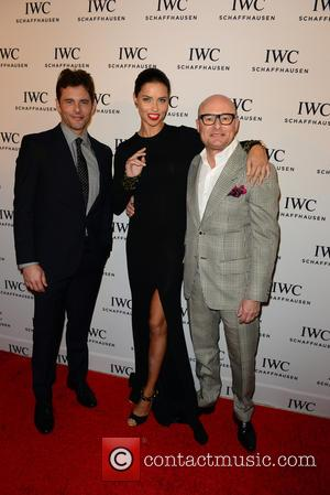 James Marsden, Adriana Lima and Georges Kern