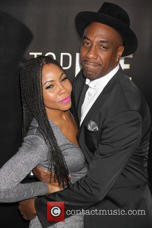 JB Smoove and Ashahida Omar - New York premiere of 'Top Five' at the Ziegfeld Theater - Arrivals at Zeigfeld...