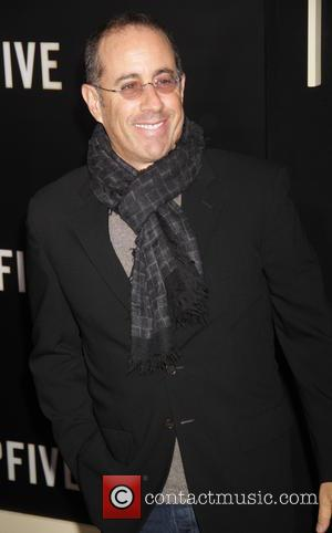 Jerry Seinfeld - New York premiere of 'Top Five' at the Ziegfeld Theater - Arrivals at Zeigfeld Theater - New...