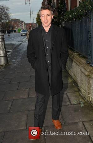 Aidan Gillen - Actor Aidan Gillen seen leaving The Merrion where he was doing press for 'Charlie' - the RTE...