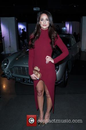 Roxie Nafousi - Aston Martin: 50 Years of Bond held at the London Film Museum Covent Garden. - London, United...