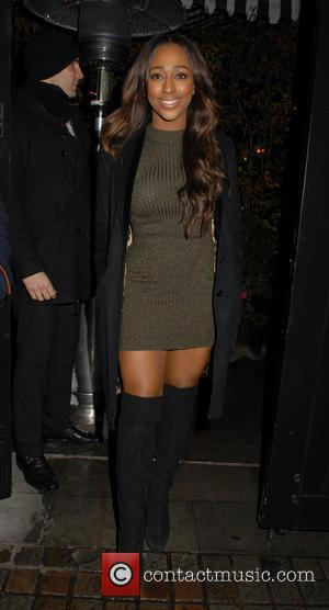 Alexandra Burke - Celebrities at Chiltern Firehouse restaurant in Marylebone - London, United Kingdom - Thursday 4th December 2014