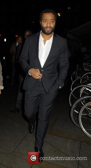 Chiwetel Ejiofor - Celebrities at Chiltern Firehouse restaurant in Marylebone - London, United Kingdom - Thursday 4th December 2014