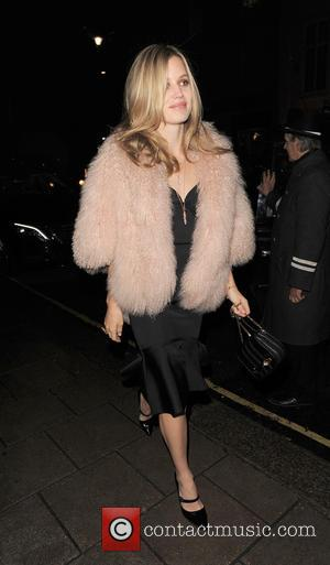 Georgia May Jagger - English fashion model Georgia May Jagger was spotted as she left the Thomas Sabo store before...