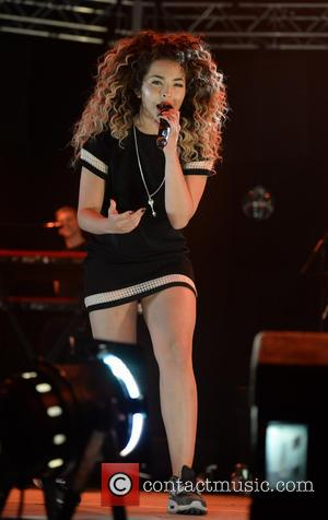 Ella Eyre - Key 103 Christmas Live at the Manchester Arena at Manchester Arena - Manchester, United Kingdom - Thursday...