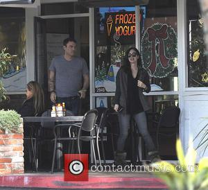 Megan Fox and Brian Austin Green - Megan Fox and Brian Austin Green Green leaving a cafe after breakfast -...