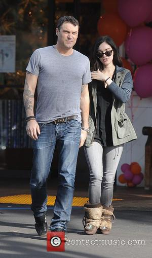 Megan Fox and Brian Austin Green - Megan Fox and Brian Austin Green Green leaving a cafe after breakfast -...