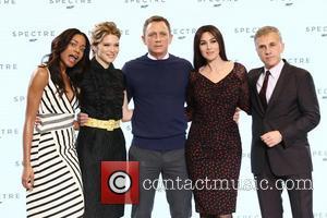 Naomie Harris, Daniel Craig, Lea Seydoux, Monica Bellucci and Christopher Waltz